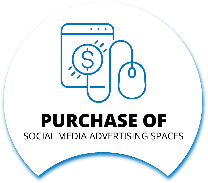 Purchase of Social Media advertising spaces